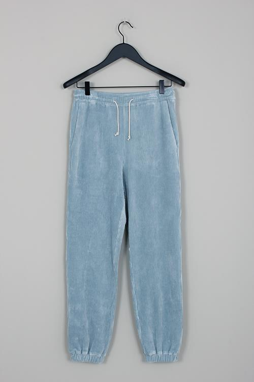 Amomento jogger pants light blue