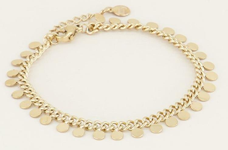 My Jewellery coin bracelet 2.0 goud