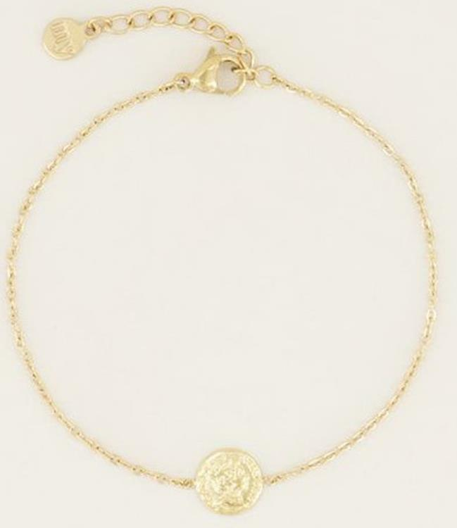 My Jewellery Bracelet small coin gold