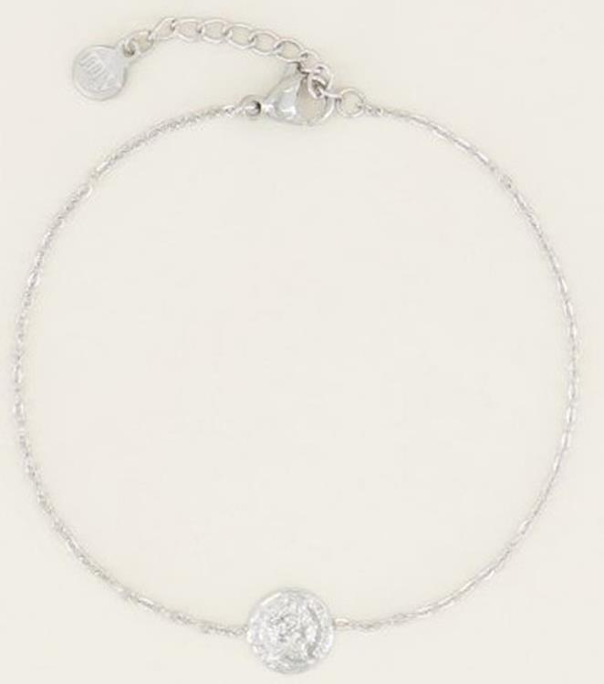 My Jewellery Bracelet small coin silver