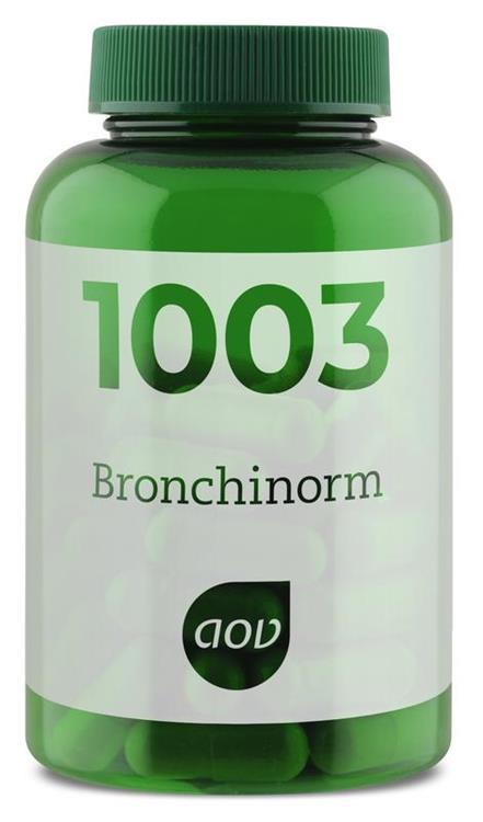 Foto van 1003 Bronchinorm (bronchicomplex) (AOV)   60cap