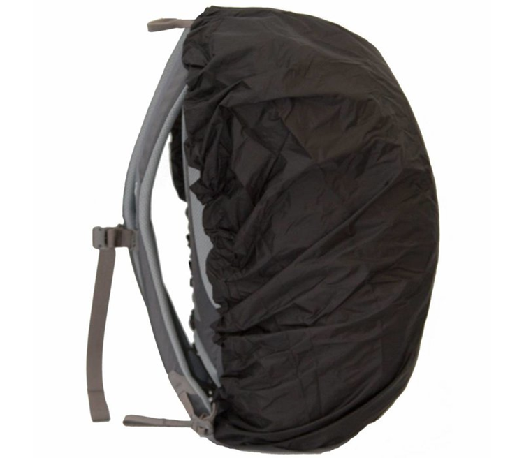 Lowland Daypack Cover Black Regenhoes
