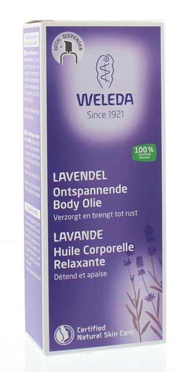 Weleda Huidolie Lavendel 100ml
