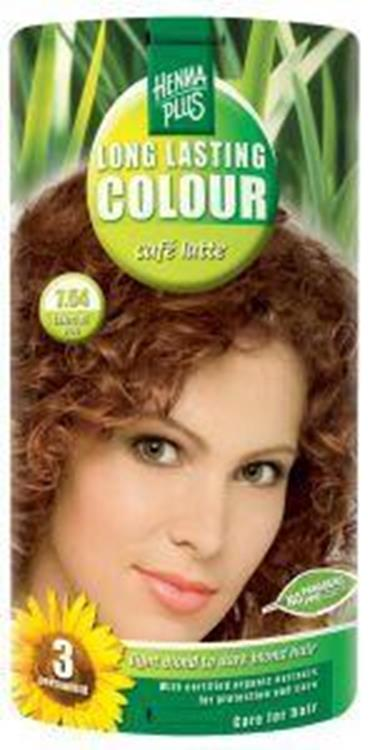 Long lasting colour 7.54 cafe latte