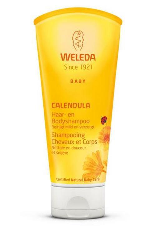 Weleda Calendula Baby Haar and Bodyshampoo 200ml