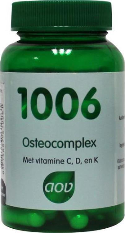 Foto van 1006 Osteocomplex (AOV)   60cap