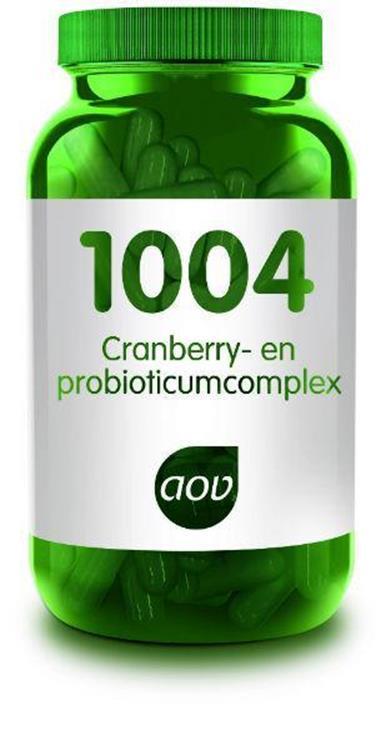 Foto van 1004 Cranberry&probioticum complex (AOV)   60cap