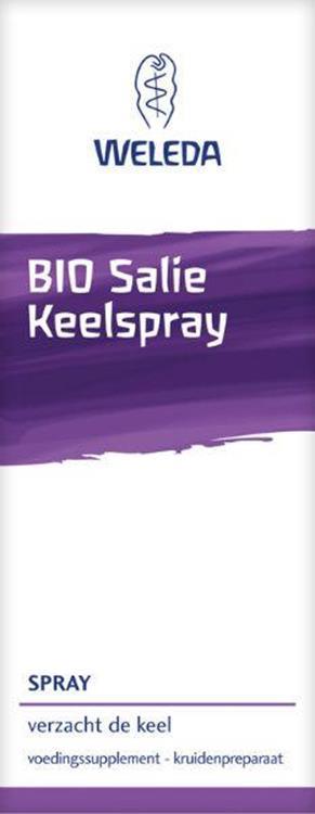 Weleda Bio Keelspray Salie 20ml