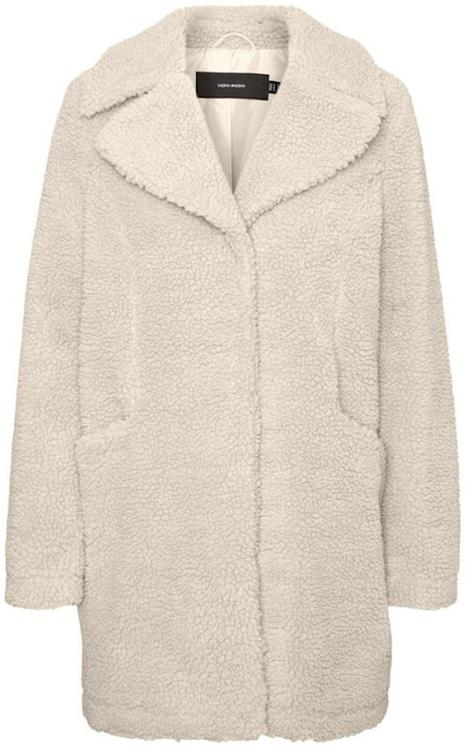 Vmdonna teddy ¾ jacket Birch