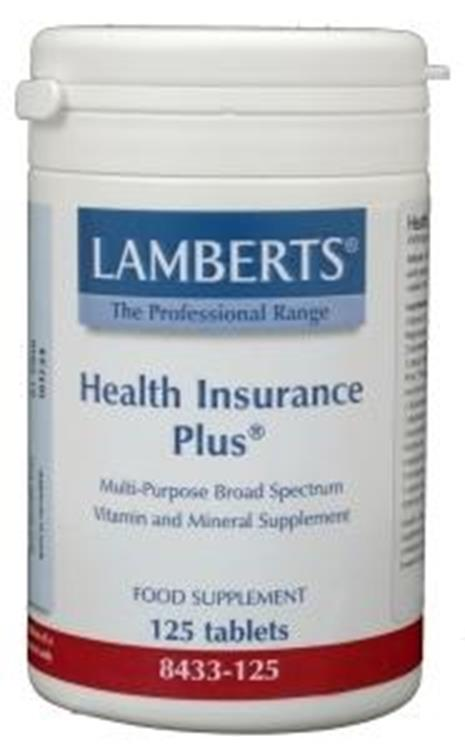 Health insurance plus (Lamberts) | 125tab