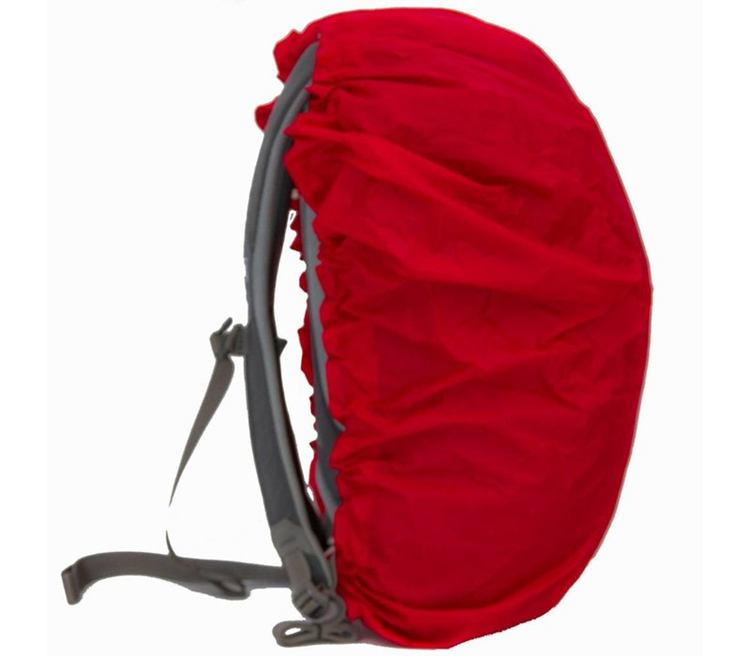 Lowland Daypack Cover Red Regenhoes