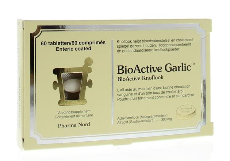 Bio active knoflook