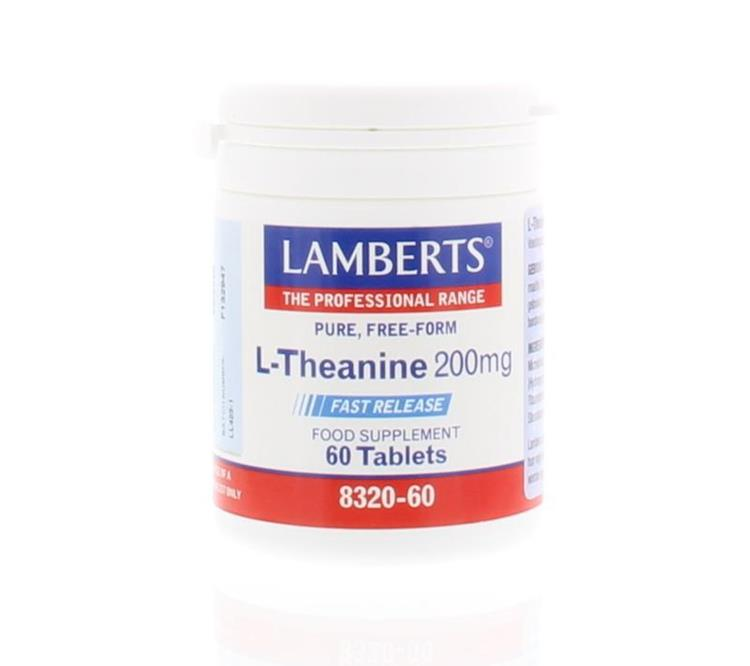 Lamberts L Theanine 200mg L8320-60 60tabl