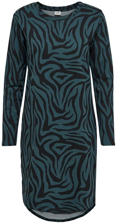 Jdyivy life l/s aop dress Atlantic deep/zebra