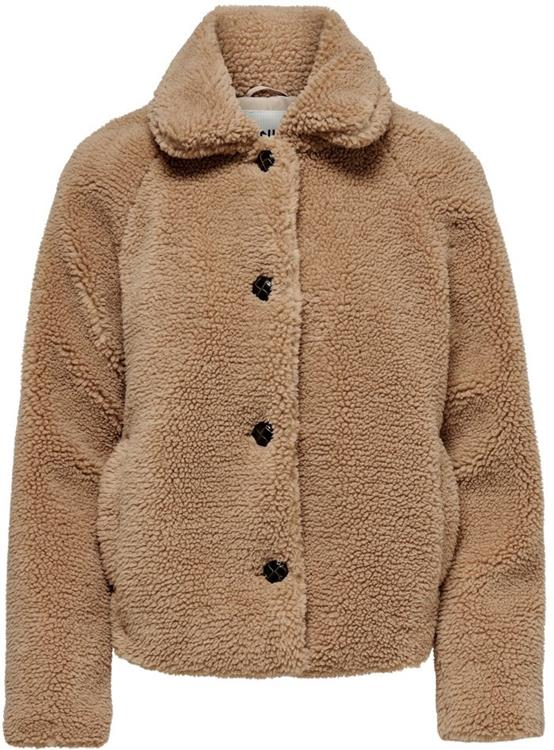 ONLEMILY TEDDY JACKET OTW NOOS Cuban Sand