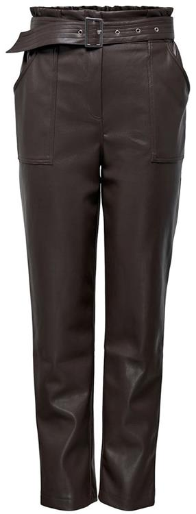 Onlbriony-dionne faux leather pant Mulch