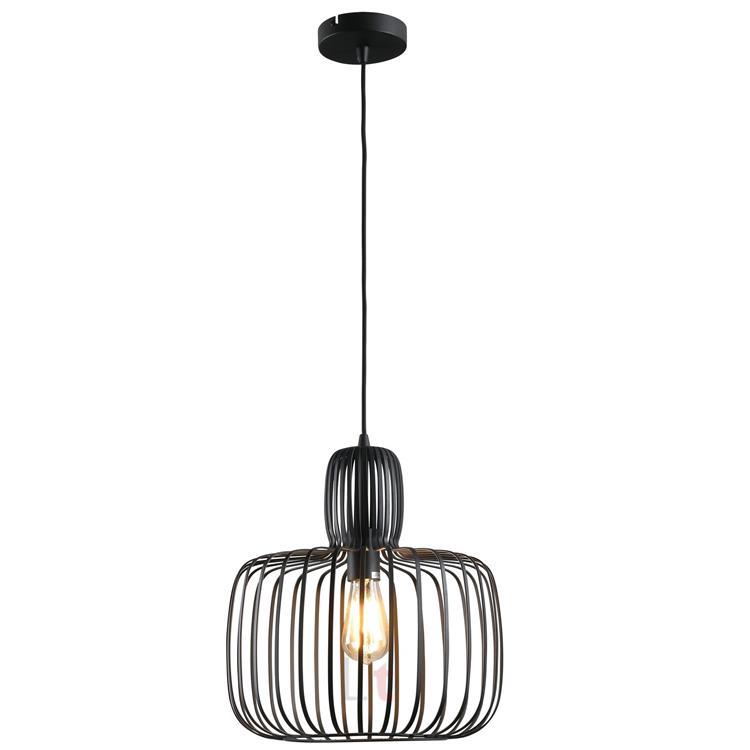 Freelight Hanglamp Costola Mat Zwart - Ø45cm