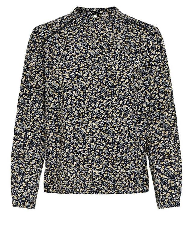 Onlnew mallory aopl/s blouse noos Night sky anne ditsy flower