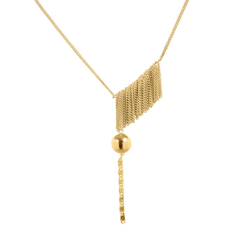 Wouters & Hendrix necklace with chain fringe