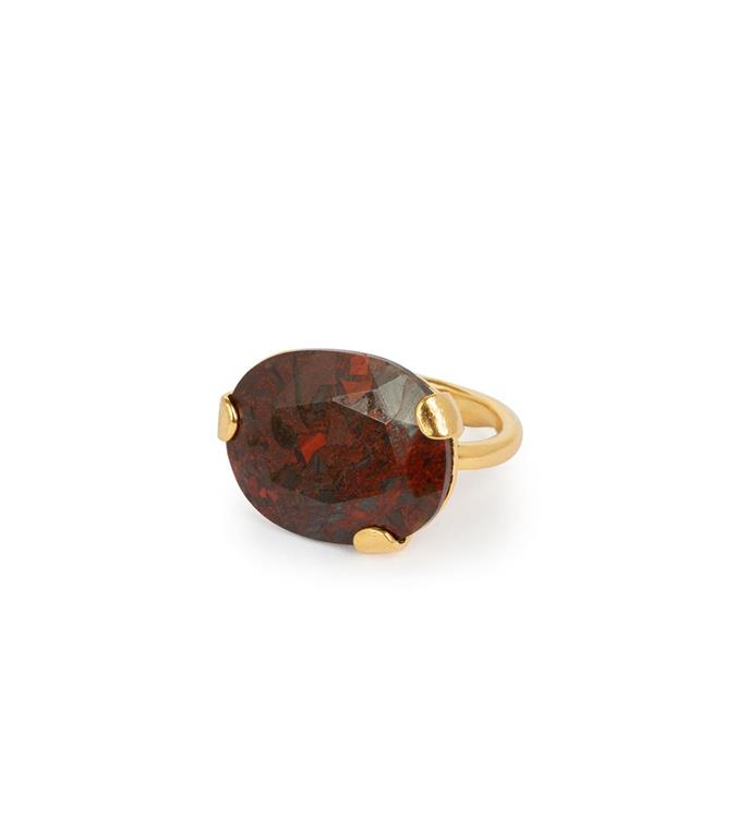 Wouters & Hendrix ring with red moss agate