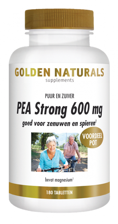 PEA Strong 600 mg (180 tabletten)