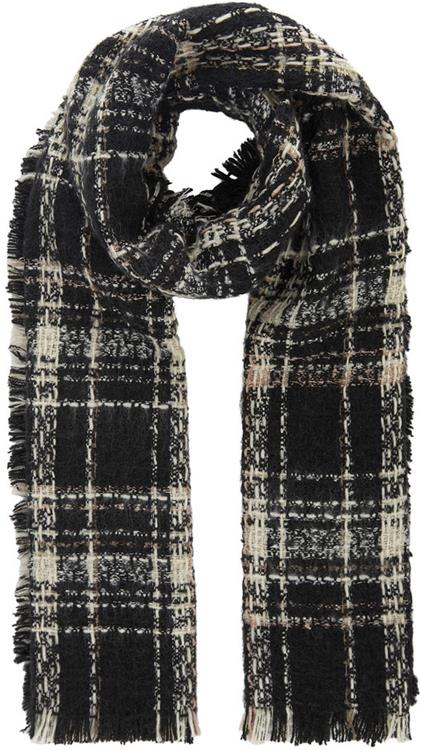 Pcrichelle long scarf Black