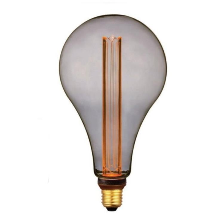 Freelight LED lamp XXL 16,5x30 cm 5W 2000K 3 Standen - rook