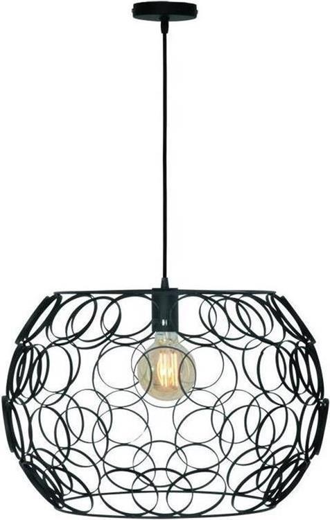 Freelight hanglamp Gomena 50 cm - zwart