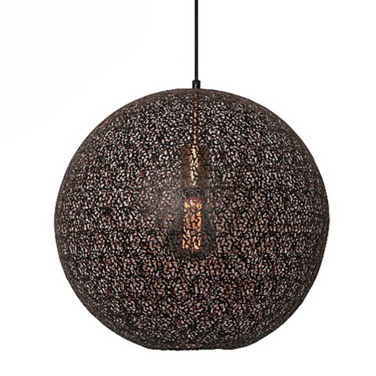 Freelight hanglamp Oronero 50 cm - zwart/goud