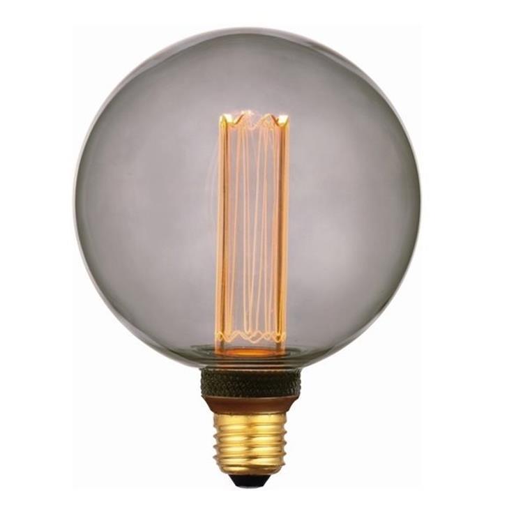 Freelight LED lamp bol 12,5 cm 5W 1800K 3 standen - rook