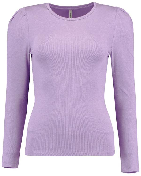 Hailys long sleeve top kati Lavender