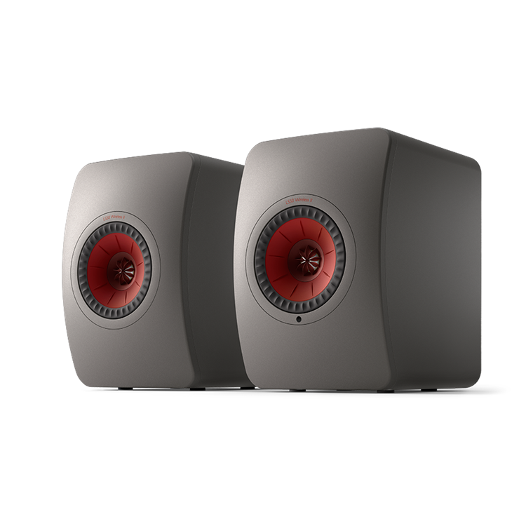 KEF LS50 WIRELESS II Titanium Grey