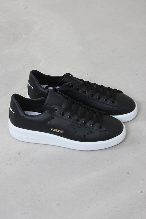 Golden Goose sneaker pure star black leather