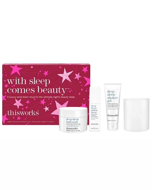 This Works - With Sleep Comes Beauty - 200 ml + 100 ml + 75 ml + 220 gr