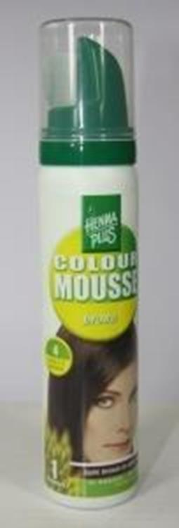 Colour mousse 4 brown