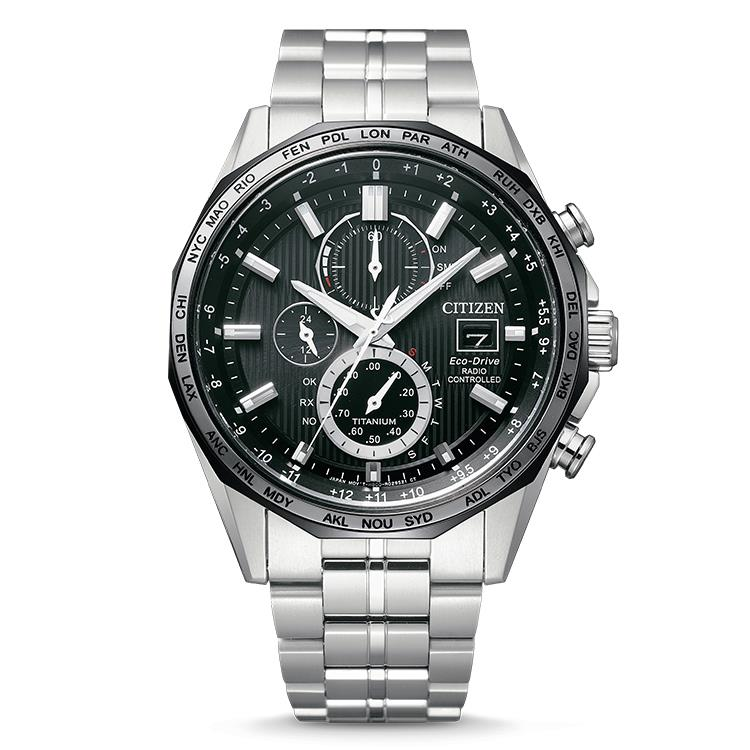 Citizen horloge AT8218-81E - SuperTitanium™