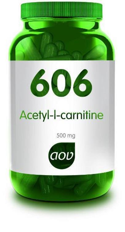 606 Acetyl L-Carnitine 500 mg