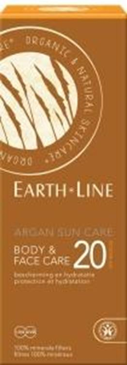 Argan bio sun face en body (Earth-Line) | 150ml