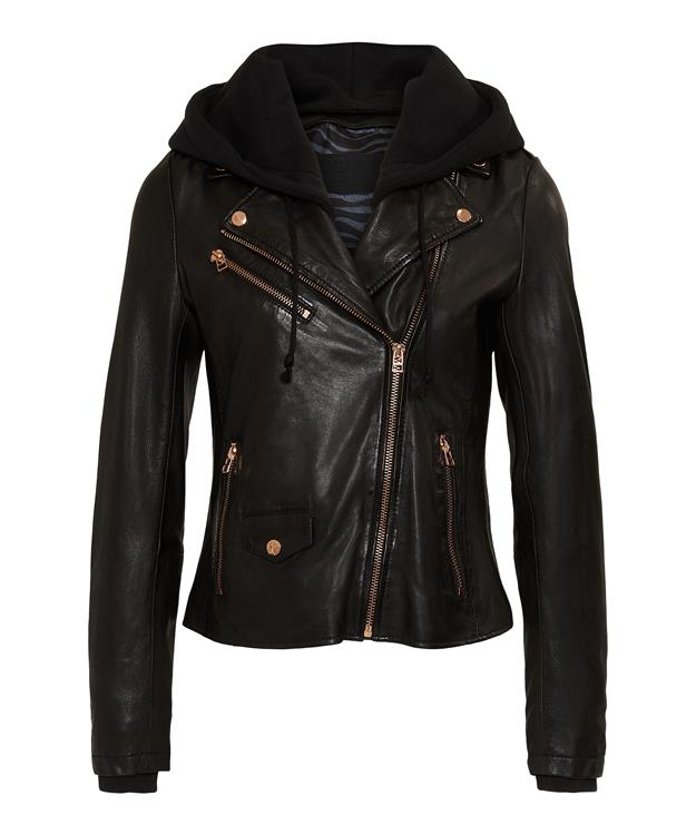Goosecraft Leather Jacket GC Lilian biker