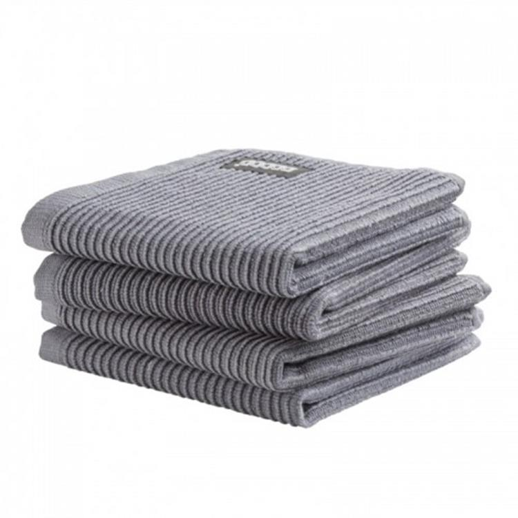 DDDDD Vaatdoek Basic Clean 30x30 cm - neutral grey