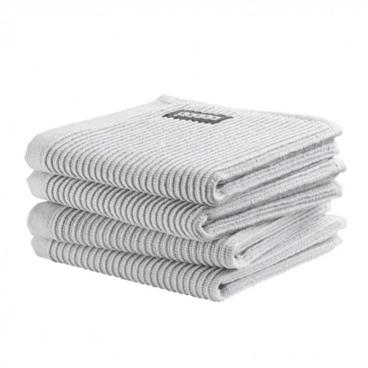 DDDDD Vaatdoek Basic Clean 30x30 cm - neutral light grey