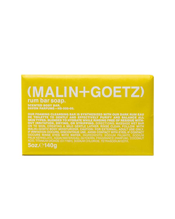 Malin+Goetz - Rum Bar Soap - 140gr