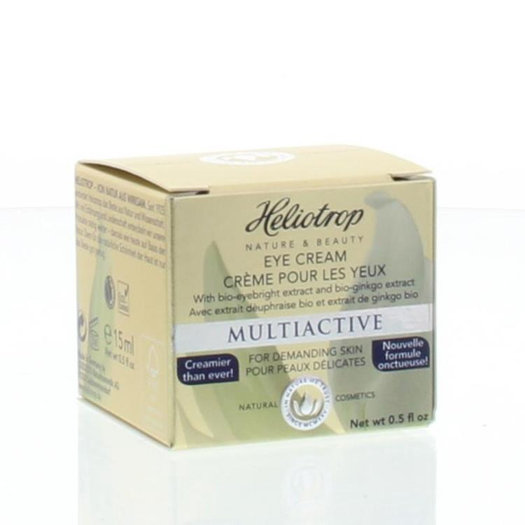Multiactiv ogencreme (Heliotrop) | 15ml