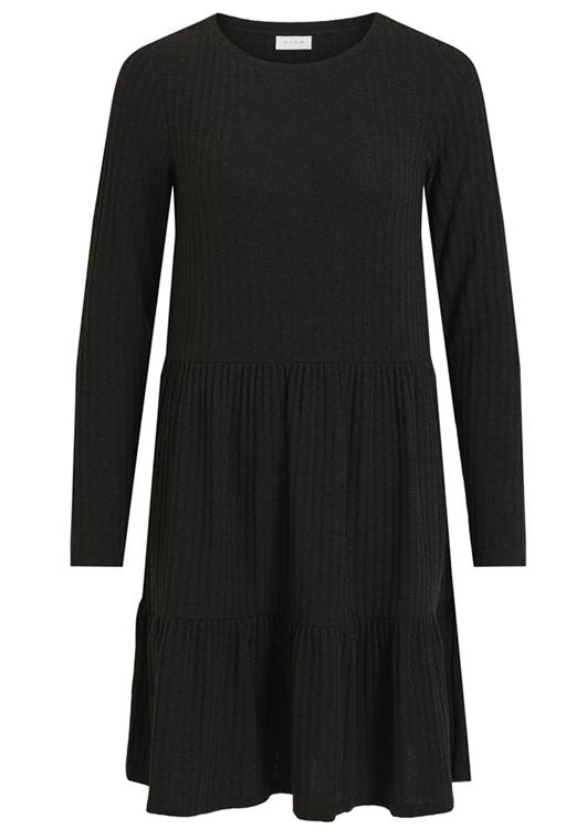 Vielita l/s dress Black