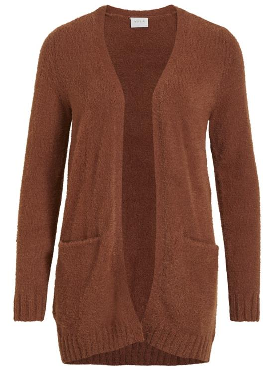 Vifeami open l/s cardigan Tortoise shell