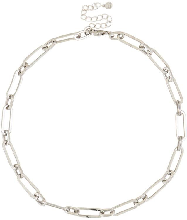 My jewelery necklace large oval links silver
