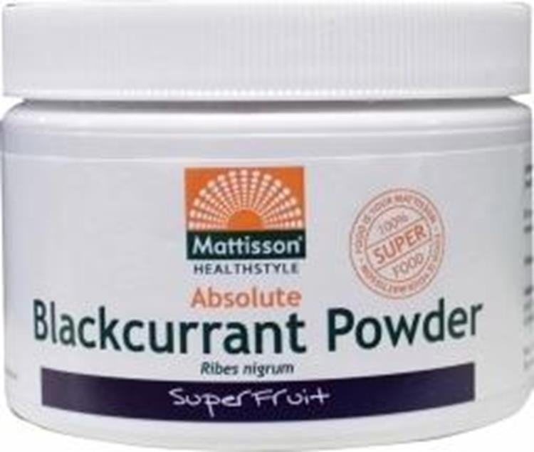 Absolute blackcurrant powder