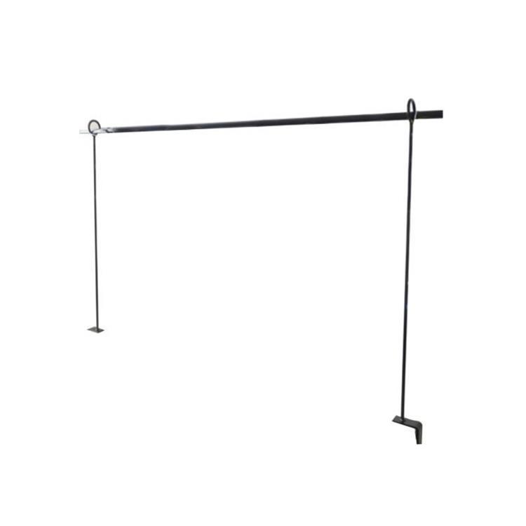 Gusta decoratie tafelrek uitschuifbaar tot 300 cm - zwart