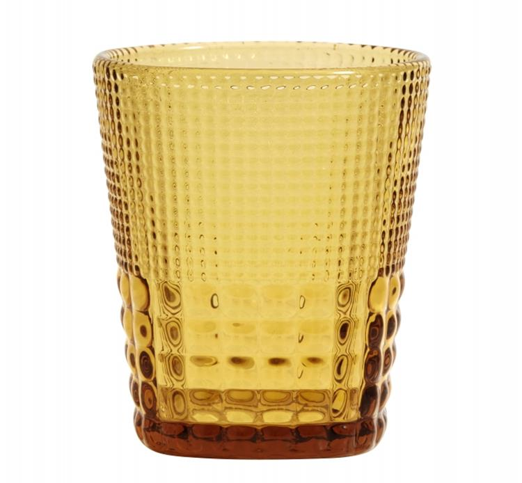 Nordal drinkglas - amber