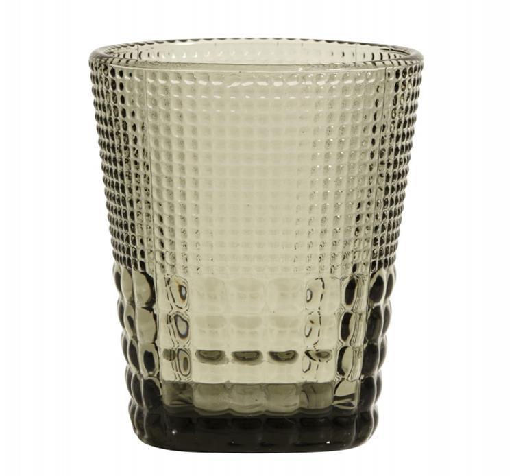 Nordal drinkglas - smoke
